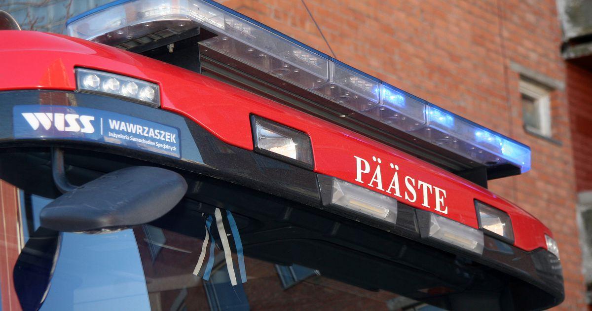 Jõhvi kortermajast evakueeriti põlengu tõttu 14 inimest