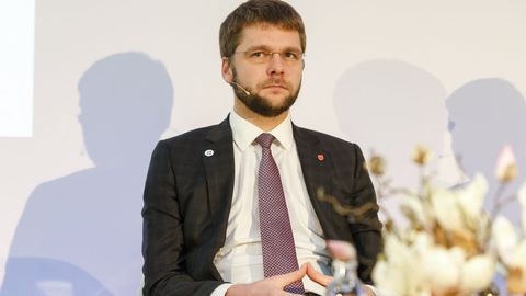 Minister Jevgeni Ossinovski