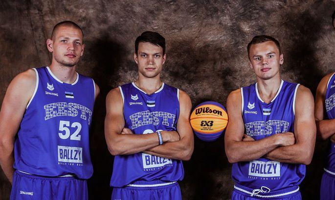 82152337792 Eelmisel aastal esindasid Eesti 3x3 koondist Joonas Järveläinen (vasakult),  Martin Dorbek, Jaan Puidet ja Maik-Kalev Kotsar. Tänavune koosseis pole  veel ...