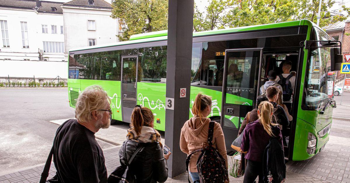 Mitmesse Eesti linna saab tasuta sõita
