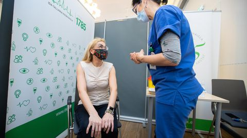 Кадри Симсон - о вакцинации: буду внимательно следить за здоровьем в течение следующих 20 дней