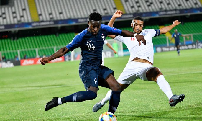1891d667b4d UEFA jalgpalli U21 Euroopa meistrivõistluste C-alagrupi mäng Prantsusmaa ja  Inglismaa eakaaslaste vahel.