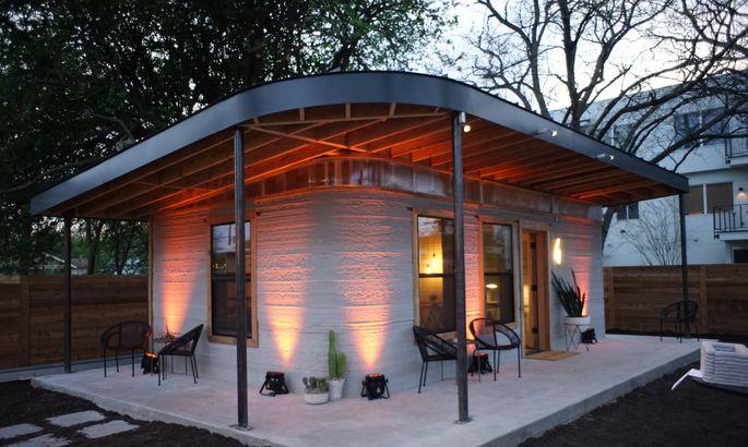 3f24ba32401 Fotod: haruldaselt soodne maja, mille ehitamiseks kulub kõigest 12 ...