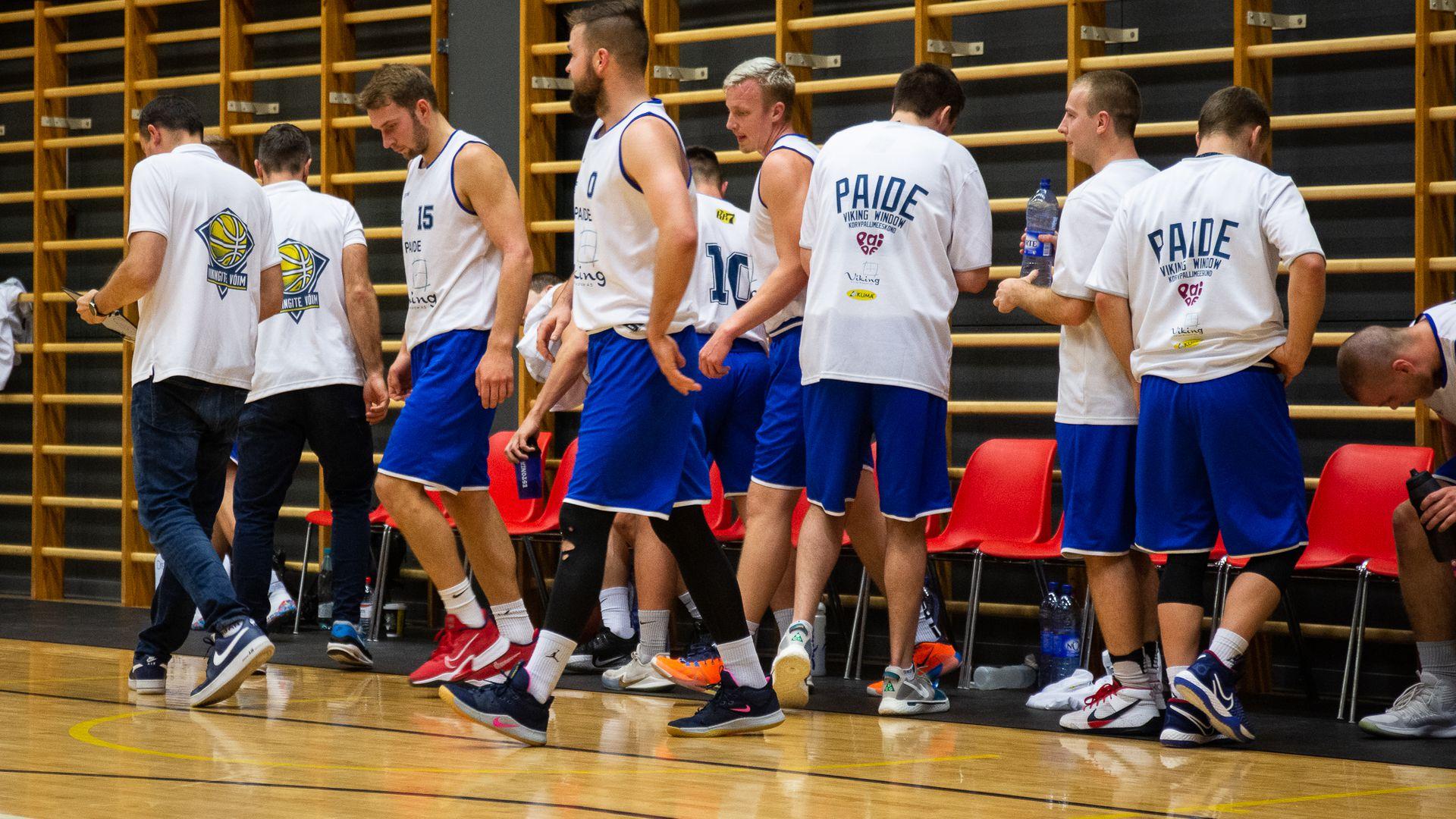 Paide korvpallimeeskond pidi tunnistama vastaste paremust: