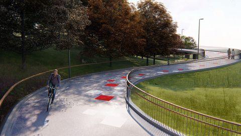 Tallinn ehitab Majaka asumit ja Kadriorgu ühendava kergliiklussilla