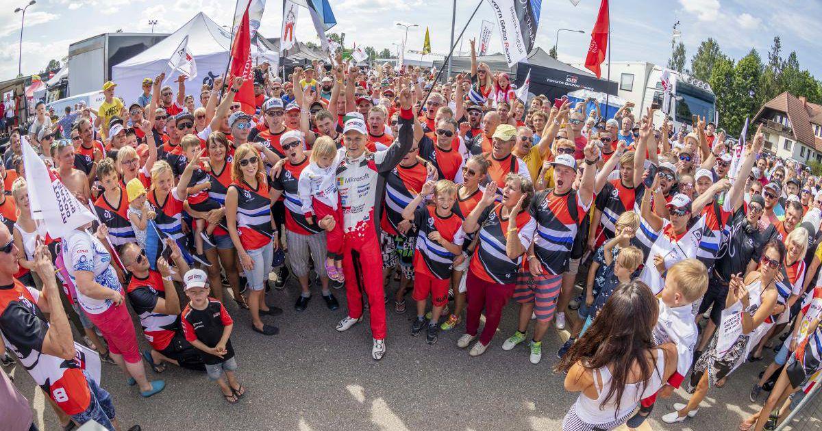 Ott Tänak sihib Rally Estonial ajaloolist kolmandat triumfi
