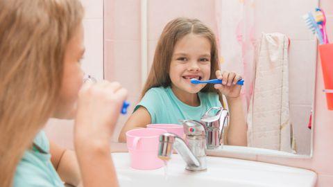 Lastele ei pruugi hambapesu meeldida.
