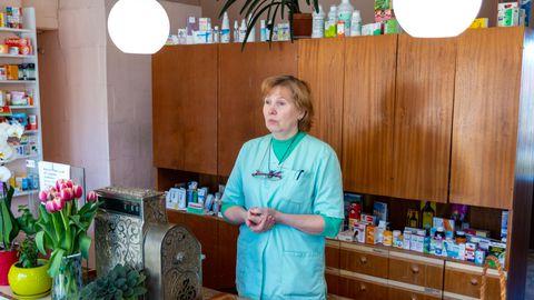 Proviisor Marika Oksaar peab Pukas apteeki