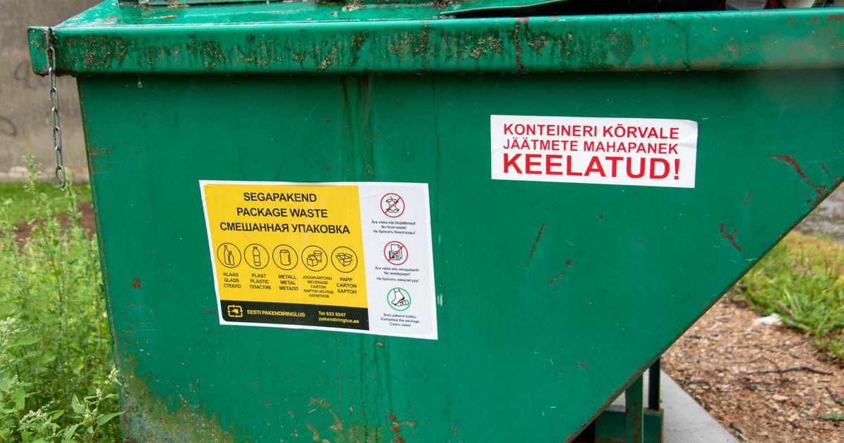 Linn kutsub üles oma jäätmeid ja riideid tasuta ära viima
