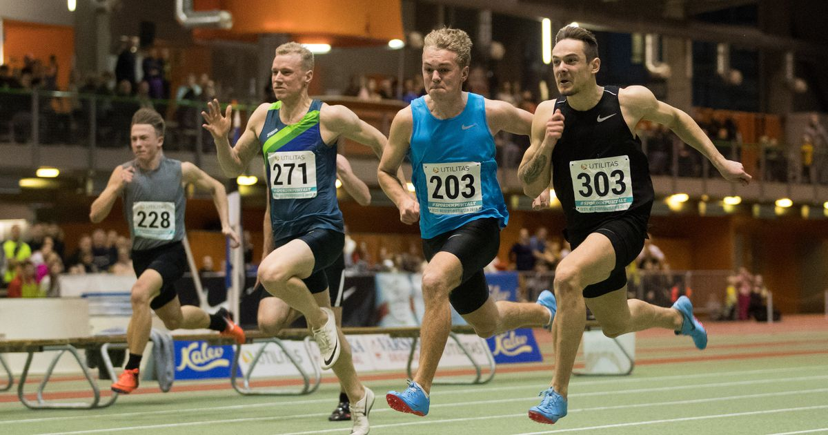 Hans-Christian Hausenberg võitis 60m jooksu tervisehäda kiuste