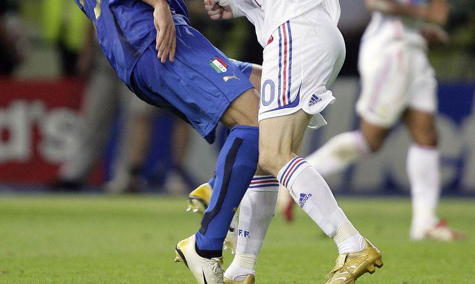 9fe8db6c8af 2006. aasta finaal - Zinedine Zidane'i kuulus pealöök Marco Materazzi pihta