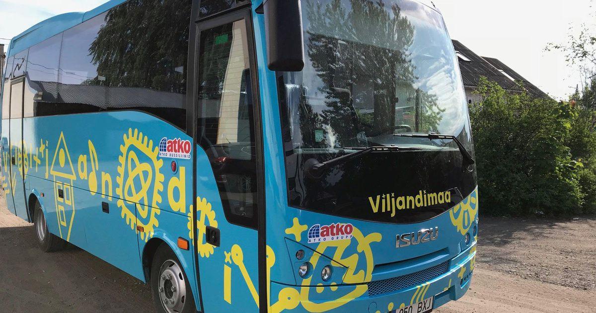 cb540ca848f Viljandimaa uued bussid saavad oma näo - Paberleht - Tasuline - Sakala